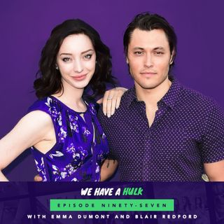 The Gifted's Emma Dumont and Blair Redford - Interview Special