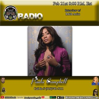 Quarantine Radio Interview With Paula Campbell