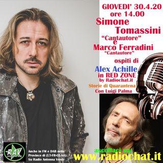 """Simone Tomassini e Marco Ferradini ospiti di Alex Achille in """"RED ZONE"""" by Radiochat.it"""