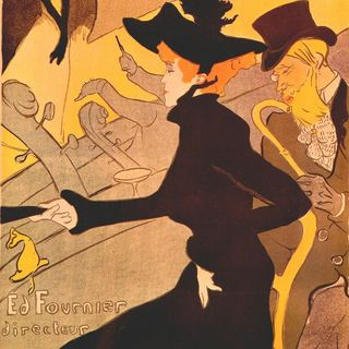 Le Divan Japonais Henri Toulose Lautrec