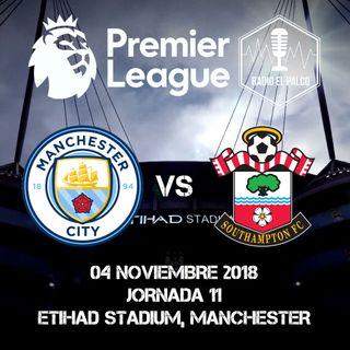 Manchester City vs Southampton en VIVO