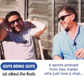 Guys Being Guys Sports Podcast - Ep8 - Kickboxing, Arms and a lesson in honesty