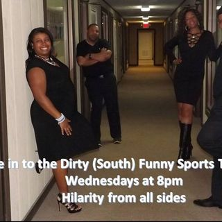 Dirty Funny Sports Talkshow Crew with Tennessee Titan Ben Troupe