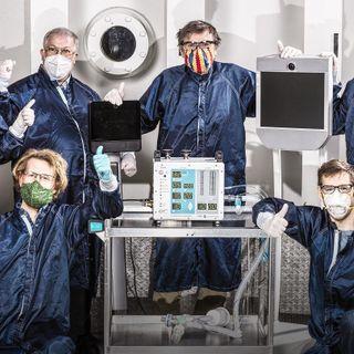 Cómo la NASA inventó un respirador para COVID-19... en 37 días | Dan Goods