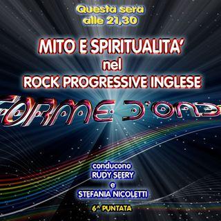 Forme d'Onda - Mito e Spiritualità nel Rock Progressive Inglese (e caso Davide Cervia) - 15-11-2018