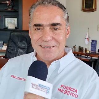Sergio Estrada Cajigal en entrevista con Central de Noticias Mx