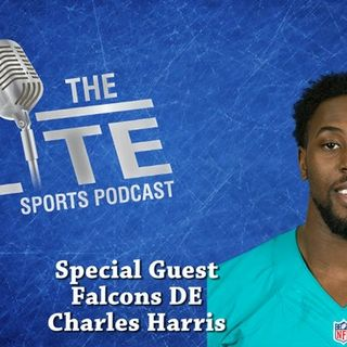 Interview with Falcons DE Charles Harris