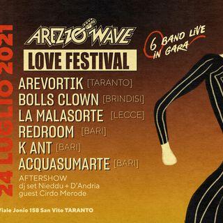 Arezzo Wave Music Contest Puglia 2021 - 24/07/2021