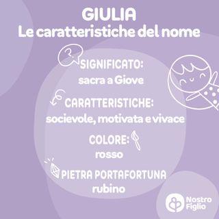 Giulia, nome per bambina: significato, origine, onomastico