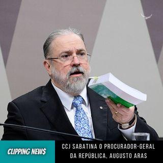 CCJ sabatina o procurador-geral da República, Augusto Aras