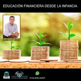 NUESTRO OXÍGENO Educación financiera desde la infancia - Jaime Collazos