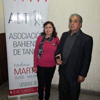 Rita Sanchez no vidente y bailarina de tango