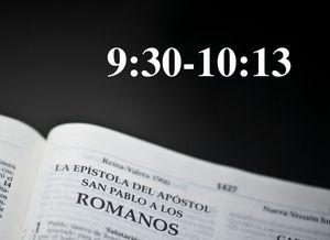 Rom 9.30-10.13 / ¿Dónde está la justicia de Dios? - Audio