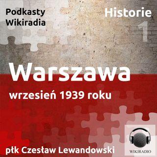 Warszawa wrzesień 1939 roku