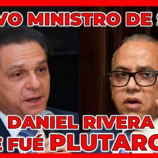 EL  NUEVO MINISTRO DE SALUD PÚBLICA DANIEL RIVERA, SE FUÉ PLUTARCO ARIAS