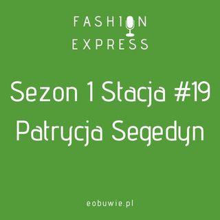 Sezon 1 Stacja 19: Agnieszka rozmawia z Patrycją Segedyn, jak stworzyć własną kolekcję ubrań