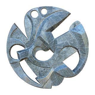 Mandala Azul Metálico - Paulo Laender - An Art Trek