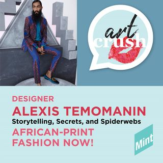 African-Print Fashion Now! - Alexis Temomanin