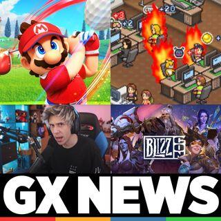 Gamelx News 22 - Nintendo Direct, BlizzCon, el crunch en videojuegos y Andorran (borrador)