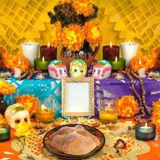 Festejo de Día de Muertos en Casa de la Abuela