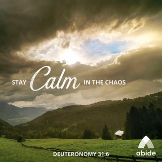 Calm in Chaos with relaxing piano music