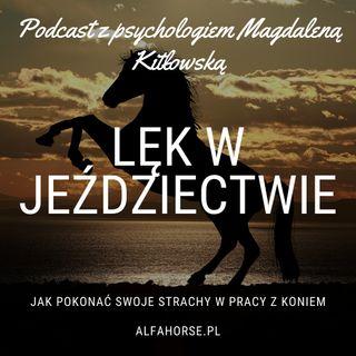 Podcast 11: Lęk w Jeździectwie - Rozmowa z psychologiem Magdaleną Kitłowską