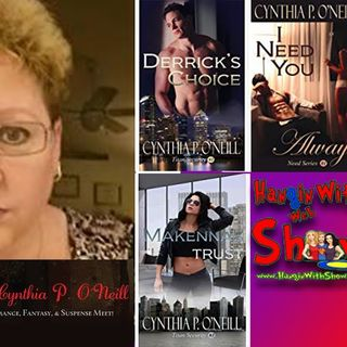 Romancing The Page With Author Cynthia P. O'Neill: an interview on the Hangin With Web Show