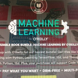 Humble Book Bundle: Machine Learning By O'Reilly