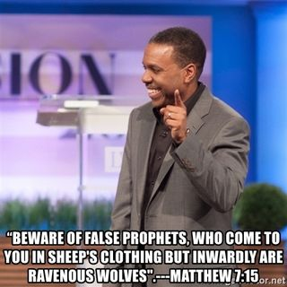 CREFLO DOLLAR YOU ARE A FALSE PROPHET FROM HELL!