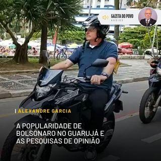 A popularidade de Bolsonaro no Guarujá e as pesquisas de opinião