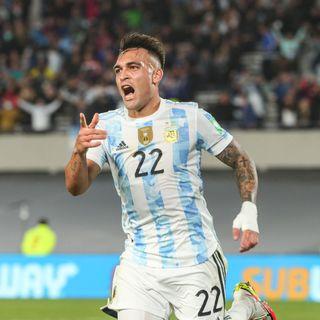 Gol de Argentina: Lautaro Martínez 3-0