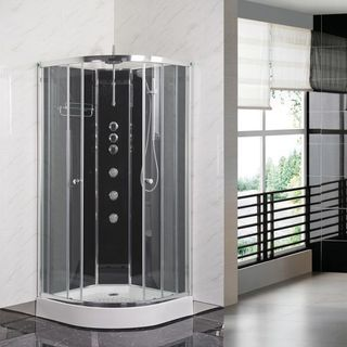 Quadrant shower enclosure and its usefulness
