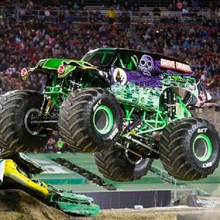Tyler Menninga-Driver of Monster Truck 'Grave Digger'!