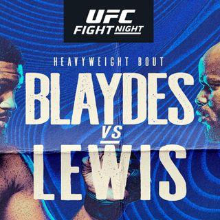 MMAFP: #UFCVegas19 Blaydes vs. Lewis