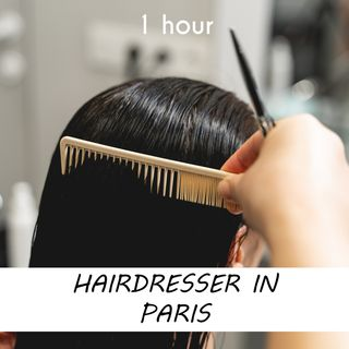 Hairdresser in Paris | 1 hour HAIRDRESSER Sound Podcast | White Noise | ASMR sounds for deep Sleep | Relax | Meditation | Colicky