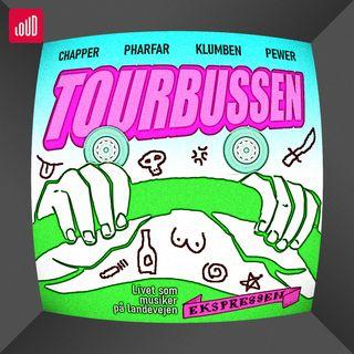 Tourbussen [1:12] Jam session med Nik & Jay og en legendarisk snak med Kim Larsen i Odense
