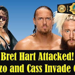 Bret Hart Attacked - Enzo and Cass Invade G1
