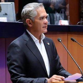 Mancera pide no politizar dictamen final de Línea 12 del Metro