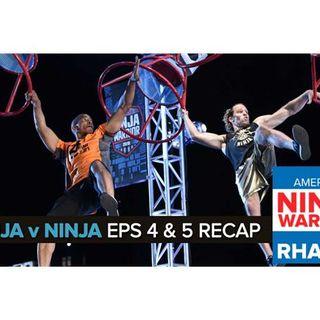 American Ninja Warrior: Ninja vs. Ninja Episodes 4 & 5 Recap