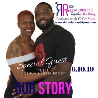 Our Story Joshua & Lecia Proby
