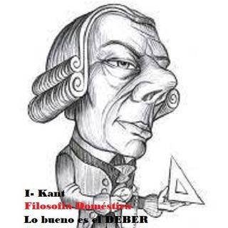 Lo bueno es el deber - I Kant
