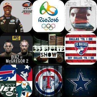 BS3 Sports Show 8.20.16 ( Dedicated to J'Ron Erby https://www.gofundme.com/2gddcsvz)