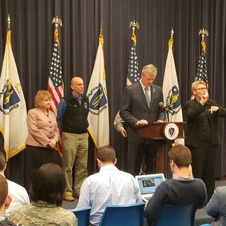 Gov. Baker Discusses Approaching Nor'easter