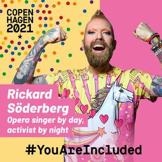 17. Rickard Söderberg: Opera singer by day, activist by night