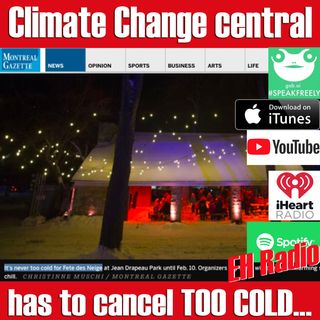 Morning moment Winter Festival Cancelled for Climate Change? Jan 28 2019