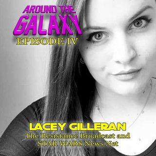 Episode 4 - Lacey Gilleran talks Fandom, #Reylo and SW Celebration