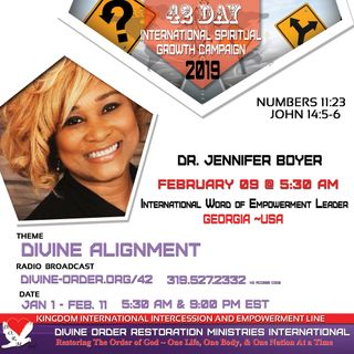 Standards for Being Biblical Qualified Titus 2 |  Dr. Jennifer Boyer | 42 Day Divine Alignment
