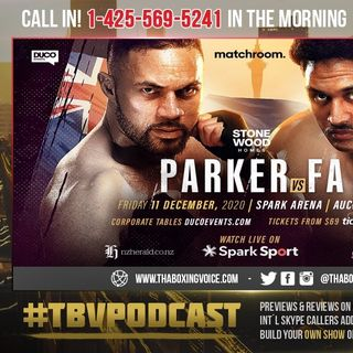 ☎️Joseph Parker and Junior Fa🔥Will Face-Off in an All-🇳🇿New Zealand Battle on Friday December 11❗️