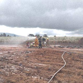 Controlan fuga de gas LP en Ocotitlán
