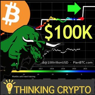 BITCOIN STOCK TO FLOW MODEL ON TRACK TO $100,000 & ALTCOINS FOLLOWING BTC!!